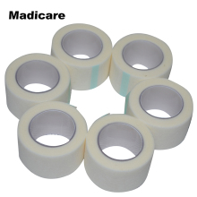 12 Rolls 2.5cm x 9.1m Paper Tape Medical First Aid Non woven Sugical Tape Adhesive Wound Dressings