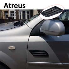 Buy Atreus 2x Car Side Carbon Fiber Air Vent Cover Grille Decoration Sticker Peugeot 206 308 2008 3008 508 208 Mitsubishi ASX for $7.43 in AliExpress store