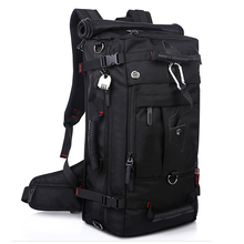 Brand Large Capacity Travel Backpack Shoulder Bag Men Mountaineering Bags 40L Oxford Cloth Lockable Waterproof and Durable B54