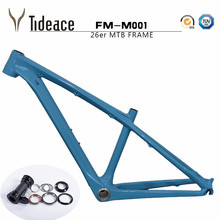 Buy Chinese kids carbon 26er mtb frame mtb carbon frame 26er 14/16inch carbon mtb frame 26 carbon kids frame headset+clamp+BB92 for $297.50 in AliExpress store