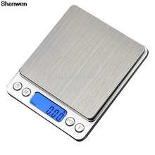 New 3000g x 0.1g Digital Gram Scale Pocket Electronic Jewelry Weight Scale(China)