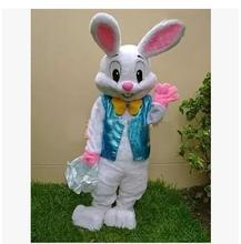 adult size  halloween costume Easter Bunny mascot costume Bugs Rabbit Hare Adult Fancy Dress Cartoon Suit Fancy Dress