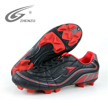 ZHENZU Brand Boys Soccer Shoes FG Cleats Soccer Sneaker For Children PU Breathable Kids Athletic Shoes Size 35-39 Sport Shoes