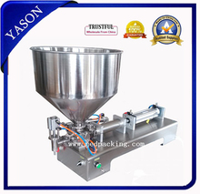 New type!!!100-300ml Single Head Cream Shampoo Filling Machine.Be used for filling grind