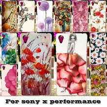 Soft Silicon TPU & Plastic Phone Covers Cases For SONY Xperia X performance F8131 F8132 SONY xperia XP Dora SS 5 inch Case cover