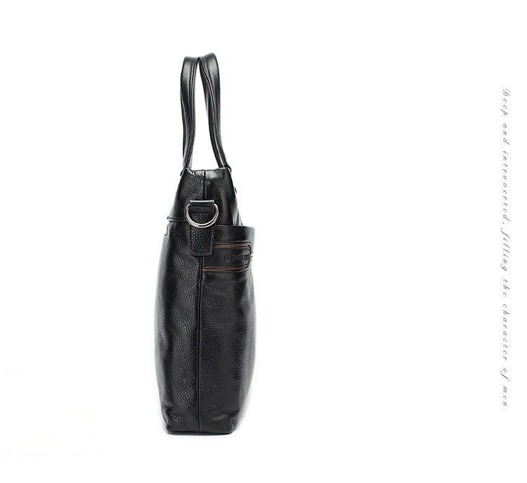 Genuine Leather Handbag Briefcase For Business Men Laptop Computer Bag Fashion Brand Crossbody Bags Messenger Bag Saco