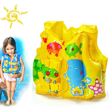 High Quality Baby Life Vest Kids Swimming Vests Boating Vest Life Jackets Kids Swim Trainer Buoyancy Kids Swimsuit float Piscine(China)