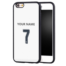 custom your name  Cristiano Ronaldo CR7 Jersey Cover case for Samsung S8 S8plus S4 S5 S6 S7 edge Note 2 Note 3 Note 4 Note5