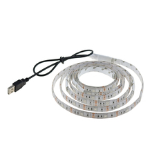 USB 5050 RGB Led Strip with Mini controller 30led/M 50CM 100CM 150CM Waterproof  flexible lightfor TV Background Computer R