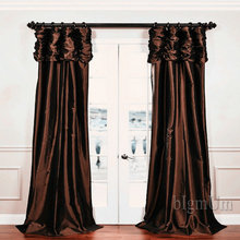 European and American Style fashion retro curtain for Window Customized Ready Made Window Treatment.(China)