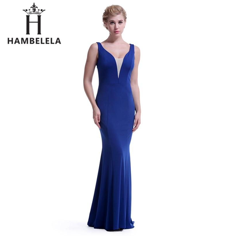 HAMBELELA Real Picture Backless Sequined Party Long Evening Dresses 2018 Vestido  De Festa Longo Sexy Mermaid ... be4a3d82a7b6