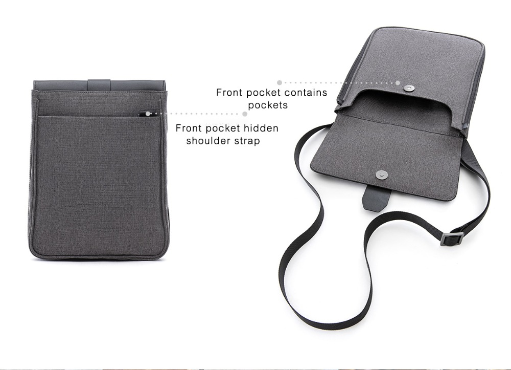 Xiaomi Fashion Commuting Waterproof backpack Removable Front Bag Big Capacity men backpacks travel backpack Laptop Bag male H0 (31)