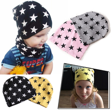 Winter Spring Autumn Cap Hats for Kids Children Accessories Headwear Hip-hot Baby girls Boys Gorros women Beanies(China)
