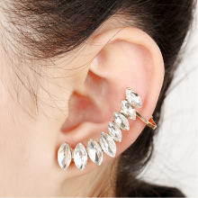 earring Simulation Drill Earrings ear clip personality temperament female clip manufacturers selling Earrings ear cuff earcuff