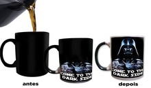 Star wars mugs star wars gifts cups Darth Vader mugs morphing heat reveal coffee mug heat changing color magic tea cups(China)