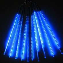 10Tube String 50cm 2835SMD 520LEDs Meteor Shower Rainfall Light Party Lamp cascading flash lamp Christmas Xmas Garden tree Decor(China)