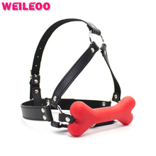 Buy Bone shape open mouth gag ball slave bdsm sex toys couples fetish sex toys bdsm bondage restraints erotic toys adult games