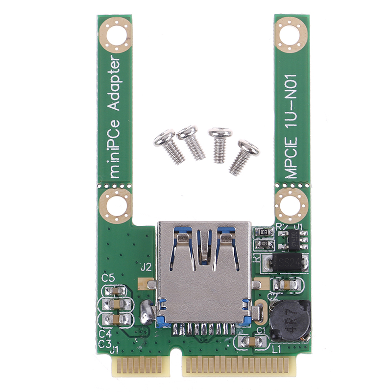 Mini Pcie To USB 2.0 Adapter Converter,USB 2.0 To Mini Pci-e PCIE Express Card Adapter With Screw Fittings