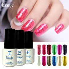Essaje Nail Foil glue Shining Glitter Platinum UV LED lucky Gel Lacquer 3D Paint Fingernails Gel Nail Polish Primer
