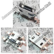 HOT!! 50x New DC Power Jack Micro USB JACK End Plug Socket for netbook/  tablet pc/mp3/mp4 Shen board & boundless