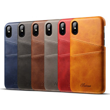 Buy NPHACC Apple iPhone 8 Case Luxury Brand Leather Card Cases Mobile Phone Shell bag Coque iPhone 8 Fitted Cases Coque for $5.57 in AliExpress store