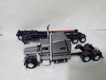 Tonkin Replicas: 1:53  Moss Red  Peterbilt 389 show trailer