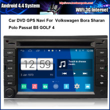 Android Car DVD/GPS player FOR VW Passat B5 Jetta Golf 4 Bora Polo PS Navigation,Speed 3G, enjoy the built-in WiFi