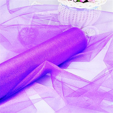 Crystal clear tulle gauze roll fabric birthday party decorations party party New Year wedding decoration 48cm * 10m / 6ZSH015-1B