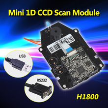 Blueskysea H1800 CCD Sensor 1D Barcode Scanner Scan Engine CCD Bar Code Scanner Scan Module OEM DIY Scan Engine 1D CCD(China)