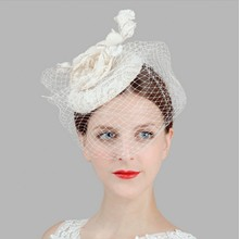 Retail Vintage Lady Women black Wool Felt Pillbox Fascinator Party Wedding Hat with Bow Veil wine/camel/black