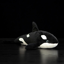 "15"" Lifelike Extra Soft Orca Plush Toy Killer Whale Stuffed Animal Toys For Kids Ocean Life Toy Birthday Gifts(China)"