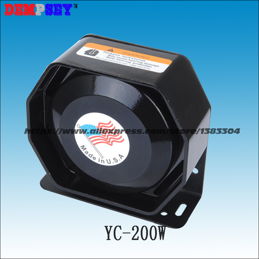 YC-200W High-Quality Speakers Hot 200W Thin Hexagonal Speaker, Can be Equipped With 200W Siren, Sound is Very Loud<br>