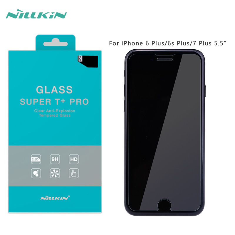 iPhone 8 Plus tempered glass NILLKIN Super T+ Pro Clear Anti-Explosion Tempered Glass iphone 7/6/6s Plus 5.5'' 0.15mm