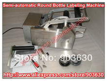 Wholesale 220V/110V Semi-automatic Round Bottle Labeling Machine ,Automatic Bottle Labeler Machine,bottle label sticker MT-50