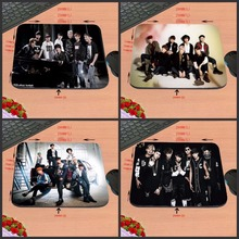 Hot Selling Popular 4 PC of Hot Music Band Boys  Mouse Pad Mat for Gaming PC Anti-slip Mouse Mat for Optical/Trackball Mouse