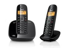 Call ID House Hold Wireless Telephone Base Digital Cordless Telephone For Business Office Home Black(China)