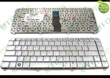 Genuine New US Notebook Laptop keyboard for HP Pavilion dv5 dv5-1000 dv5-1100 dv5-1200 dv5t dv5z Silver 9J.N8682.J01 488590-001(China)