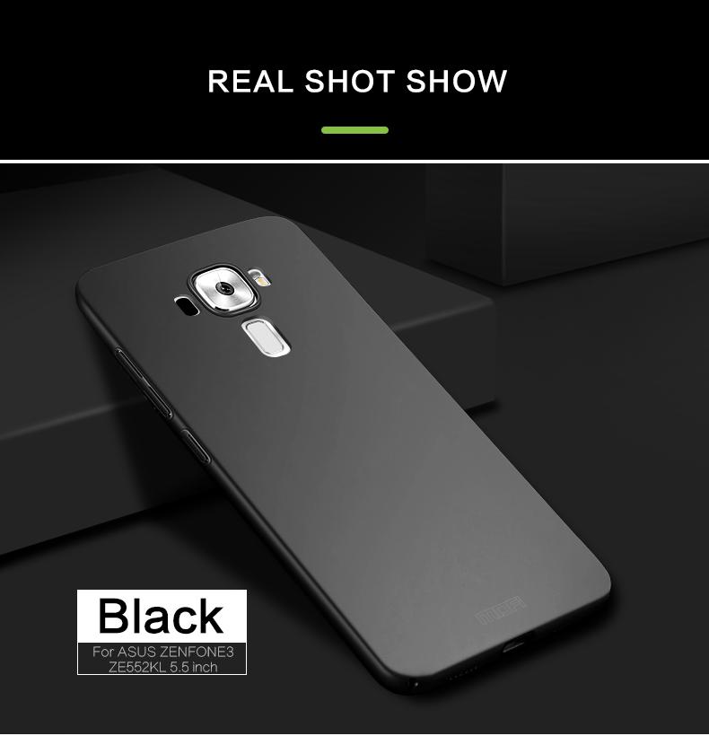 "Asus Zenfone 3 ZE552KL Case Hard Back Luxury Full Cover PC Plastic Mofi Original Phone Case For Asus Zenfone 3 ZE552KL 5.5"" 9"
