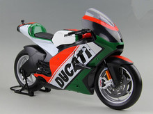 High simulation 2011 Ducati desmosedici motorcycle, 1:6 scale advanced alloy motorcycle model, metal castings, free shipping