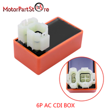 6 Pin Racing AC CDI BOX Unit Ignition For 2 Plug GY6 50cc 125cc 150cc 139QMB 157QMJ Engines ATV Scooter Go Kart Moped Quad