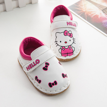 Toddler baby shoes boots children winter shoes kids girls spring/autumn cute leather fashion shoes katty ankle boots