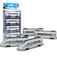 Simulation China's high iron harmony Train 41.5cm Long Train Scale Metal Car Model Diecast Kids Pocket Toys Collection Best Gift(China)
