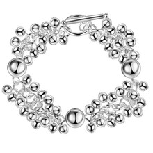 11.11  DEAL Beads Fashion silver bead bracelet TO bracelet Factory brand famous bracelet women men lady gift wholesale price