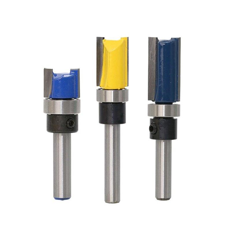 fresadora para carpinter/ía con 3//4 pulgadas de di/ámetro Broca recta de doble flauta de 1//2 pulgadas con cortador de carburo de 2 pulgadas de longitud SFASTER