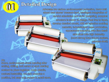 "A3 13"" High Speed Thermal Hot Cold Laminating Machine Mounting Roll Laminator Bopp Film(China)"