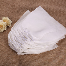 10Pcs White Non-woven Replacement Bags For Nail Art Dust Suction Collector Elastic Cord Replacement Nails Arts Salon Tools(China)