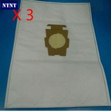 NTNT 3 PCS For KIRBY Sentrial F/T For Kirby Universal Bag suitable for Kirby Universal Hepa Cloth Microfiber dust Bags