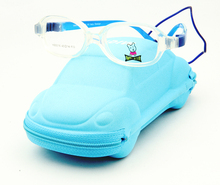 Kids Fake Glasses Designer High Fashion Rubber Hinge Screwless Child Eyeglasses with Case Kids Accessories oculos de grau