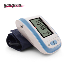 Yongrow Digital Arm Blood Pressure Monitor Sphygmomanometer Tonometer Customized Blood Pressure Monitor optional Larger Cuff(China)
