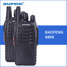 2pcs/lot Baofeng 888S Walkie Talkie BF-888S 5W UHF 400-470MHZ Portable Walkie Talkies bf888S Two Way Ham CB Radio Communicator